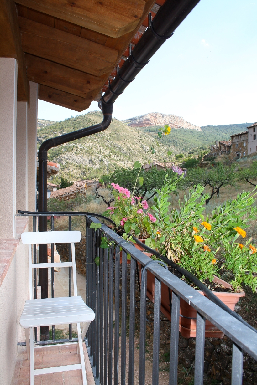 vistas desde balcón valloré